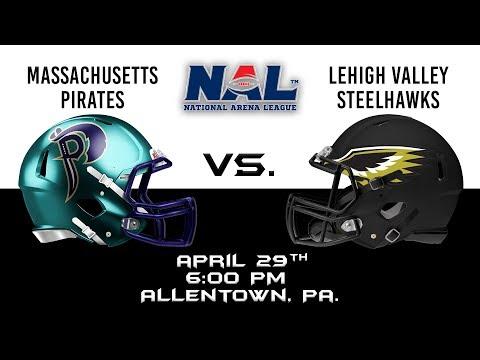 Massachusetts Pirates vs Lehigh Valley Steelhawks