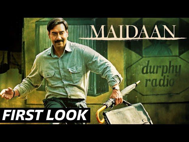 Maidaan First Look    Ajay Devgn    Priyamani
