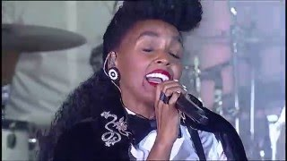 Janelle Monae celebrates Prince At the AltaMed Power Up Gala