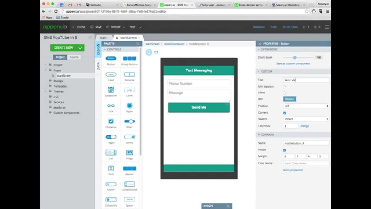 Build a Text Messaging App in 5 Minutes