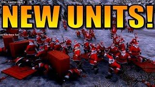 UEBS [NEW UNITS UPDATE: Santa, Dwarves, Furniture?!] Ultimate Epic Battle Simulator Gameplay!