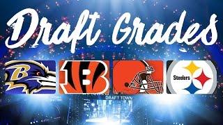 2016 AFC North Draft Grades | NFL