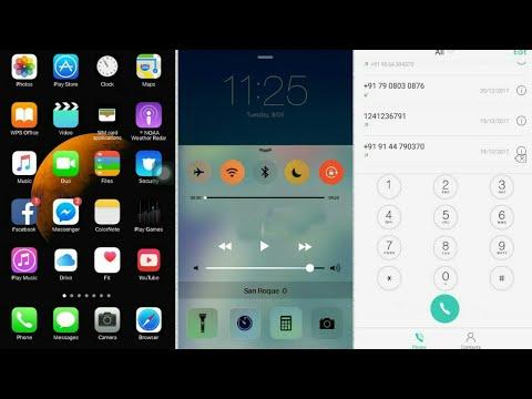 oppo iOS color theme - TechnicalHosain