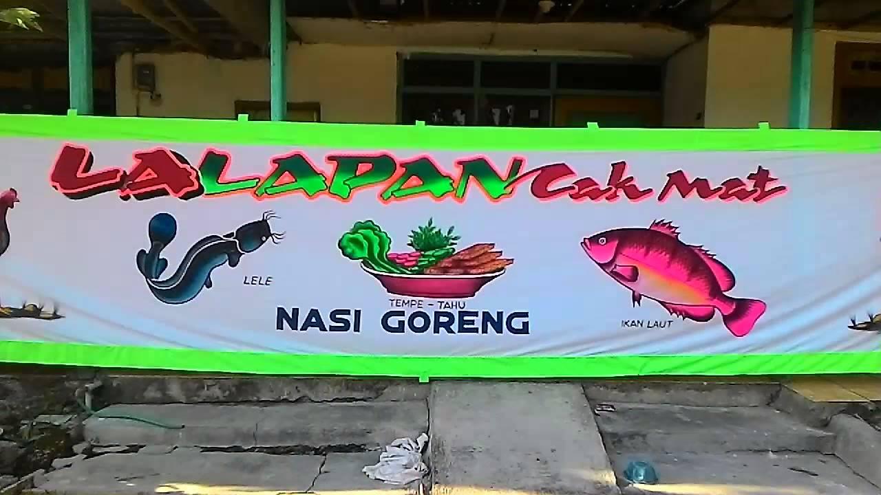 Warung Lalapan Cak Mat Di Gianyar Bali Youtube