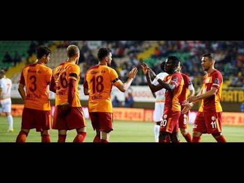 Alanyaspor 2 - 3 Galatasaray • Maç Özeti , All Goals , Highlights • 1080p HD • 29.05.2017