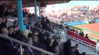 18 Mart törenlerinde Çanakkale Belediye Başkanı Ülgür Gökhan'a protesto
