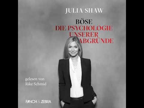 Böse - Die Psychologie unserer Abgründe YouTube Hörbuch Trailer auf Deutsch