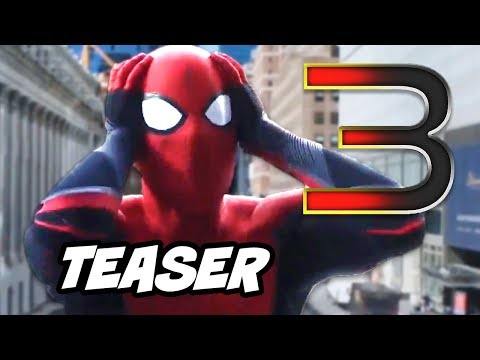 Spider-Man Far From Home Ending Scene - Spider-Man 3 Teaser Breakdown