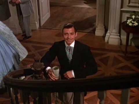The First Time You've Really Seen Rhett Butler!