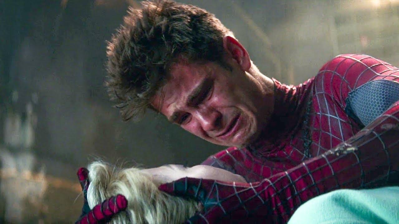 Download The Amazing Spider-Man 2 (2014) - Gwen Death Scene | Movie Access