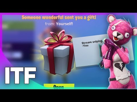 Gifting In Fortnite - How It Works! (Fortnite Battle Royale)