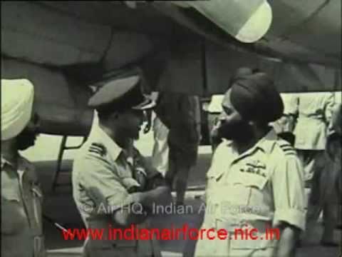 Indian Air Force [IAF] legend, Air Commodore Mehar Singh