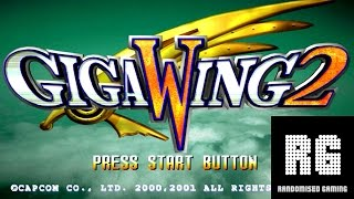Giga Wing 2 / ギガウイング2 - Sega Dreamcast - Intro & Arcade Gameplay [HD 1080p]