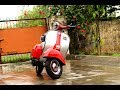 Bajaj Chetak Restoration (Modification) | From Junk Yard (part 2) detail video