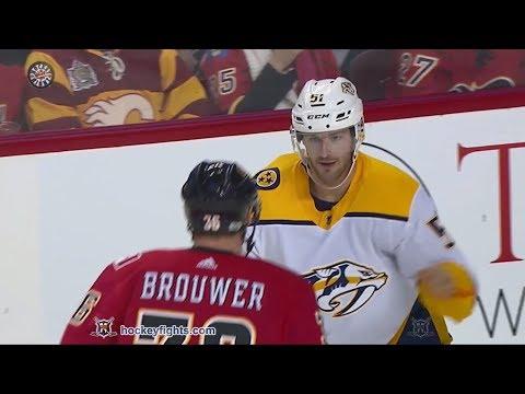 Austin Watson vs Troy Brouwer Dec 16, 2017