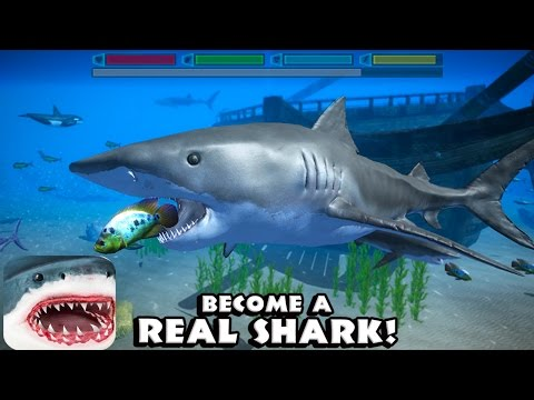#Ultimate Shark Simulator - By  #Gluten Free Games -#Simulation - #iTunes/#Google Play