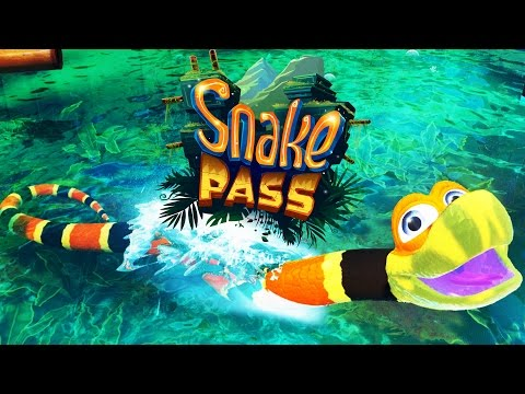 Water World! - Snake Pass Gameplay - Snake Pass Part 2