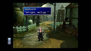 FINAL FANTASY VII with voice over and narration (part 7)