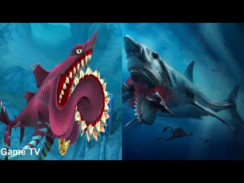 ALL Hungry Shark World in REAL LIFE !!! NEW 2019