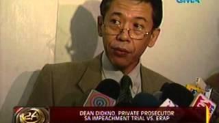 24 Oras: PCGG Chairman Bautista, nominado ng mga pinuno ng 2 sequestered firms