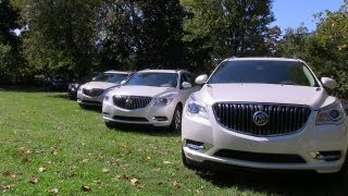 2013 Buick Enclave revealed Inside and Out