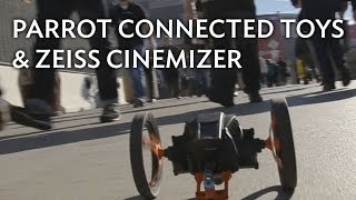 CES FPV Demo: Zeiss Cinemizer X Parrot AR.Drone 2.0 & Jumping Sumo