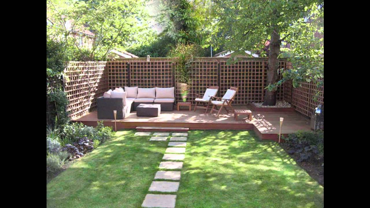 Easy Low maintenance garden design ideas - YouTube
