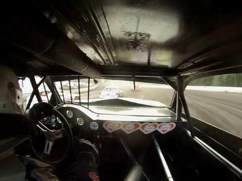 Hamilton County Speedway 6-3-17 Stock Car Heat 2 (GoPro)