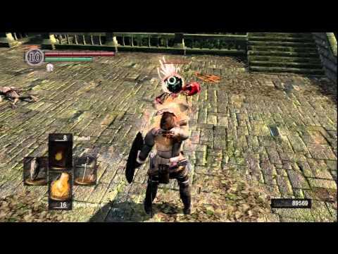 Dark Souls - Black Phantom Vagrant Encounter