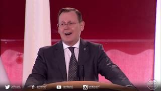 Grundsteinlegung Erfurt - Grußwort von Herrn Bodo Ramelow, Ministerpräsident Thüringens