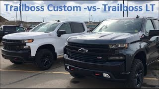 2019 Trailboss Custom vs Trailboss LT Review