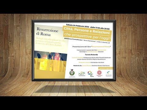 Presentazione libro   Libro Resurrezione di Roma