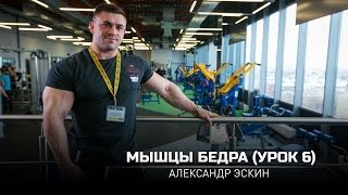 Мышцы бедра (Урок 6). Александр Эскин (eng subtitles)