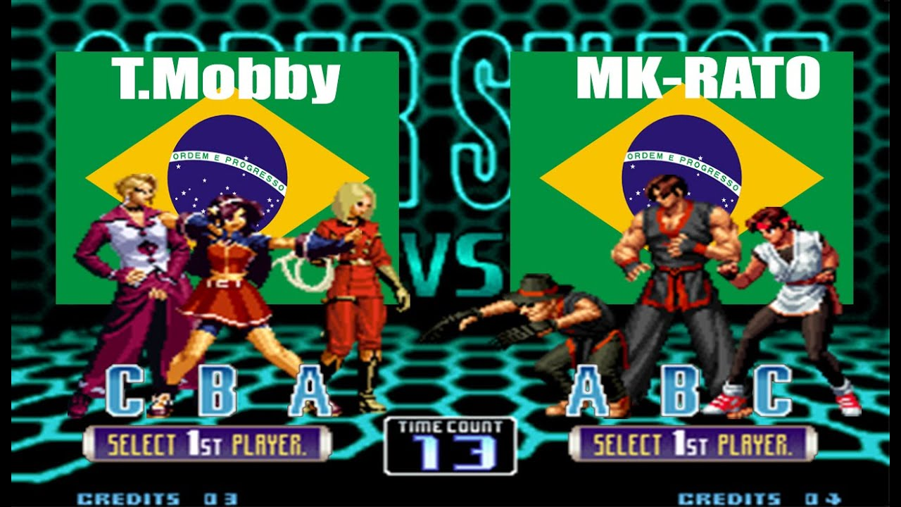 T.Mobby VS MK-RATO™    Yzkof King of Fighters 2002    FT30