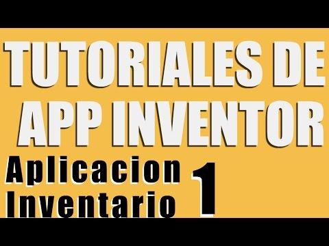 Crear una aplicacion inventario para android con App Inventor (Parte 1)
