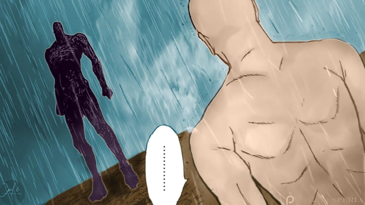 Saitama vs GOD | One Punch Man - YouTube