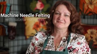 Machine Needle Felting Experiments