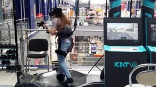 KAT VR - новейшая игровая платформа виртуальной реальности!