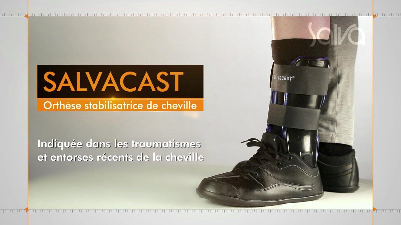 sortie de gros Conception innovante prix de détail SALVACAST - Orthèse stabilisatrice de cheville avec cryothérapie localisée