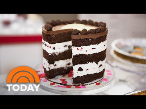 Make Valentine's Day Layer Cake To Set A Romantic Mood | TODAY
