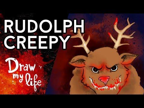 La SANGRIENTA HISTORIA de RUDOLPH - Draw My Life en Español