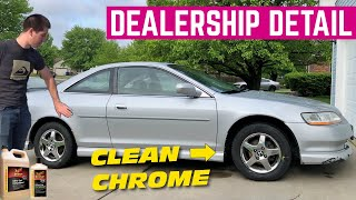 We Spent 4 HOURS Detailing And Paint Correcting My CHEAP Honda Accord EX Coupe