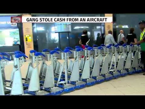 Heist at OR Tambo international airport