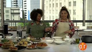 LIVE: Friends With Benedicts | Brunch Recipes with My Impossibly Tiny Kitchen and Ishea Brown