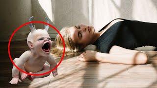 Мать прокляла своего младенца, а спустя мгновение лежала на полу без сознания.