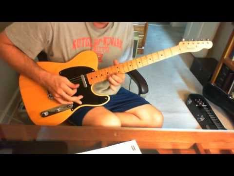 Mamas and Papas California Dreaming flute solo on guitar