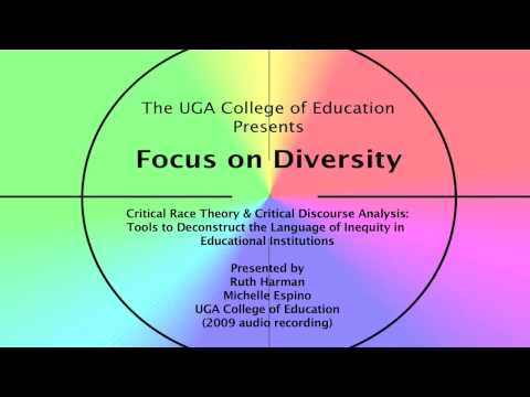 Critical Race Theory & Critical Discourse Analysis (audio only) - Focus on Diversity series