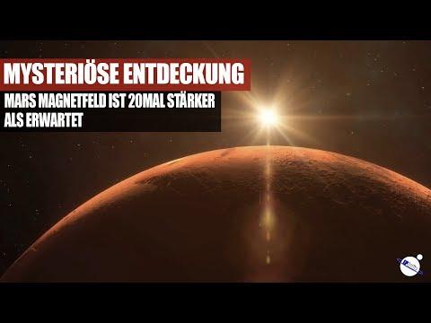 Mysteriöse Entdeckung - Mars Magnetfeld ist 20 mal stärker als erwartet