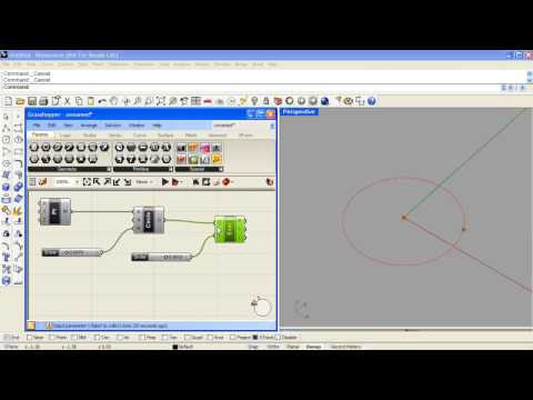 Distance logic with Grasshopper