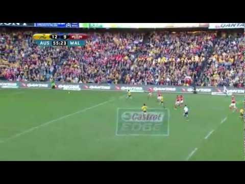 Wallabies v Wales - 2012 Test 3